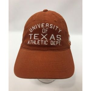 Vintage Ut Athletic Dept Baseball Cap Hat